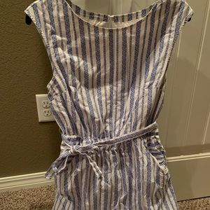 Blue and White Target dress